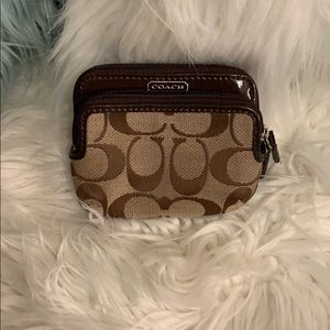 Authentic Coach Credit Card Coin Wallet